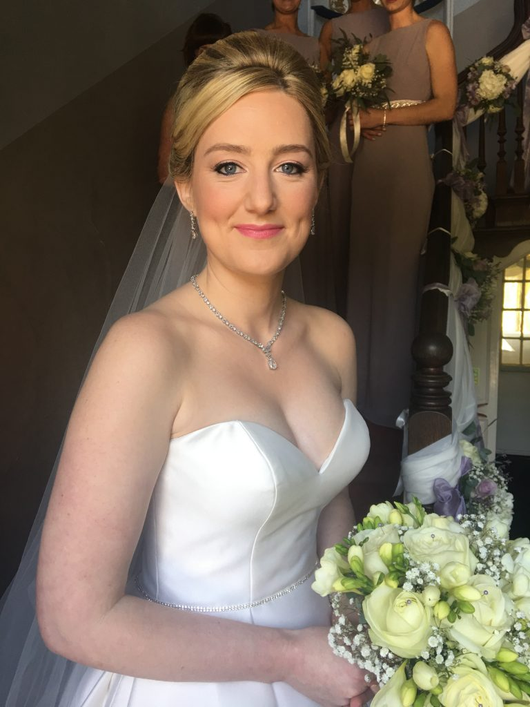 Flawless, fresh spring bridal makeup Grafton Manor, Bromsgrove