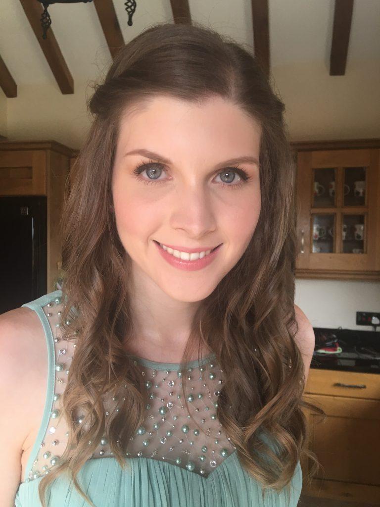 Fresh skin bridesmaid makeup Kinver West Midlands