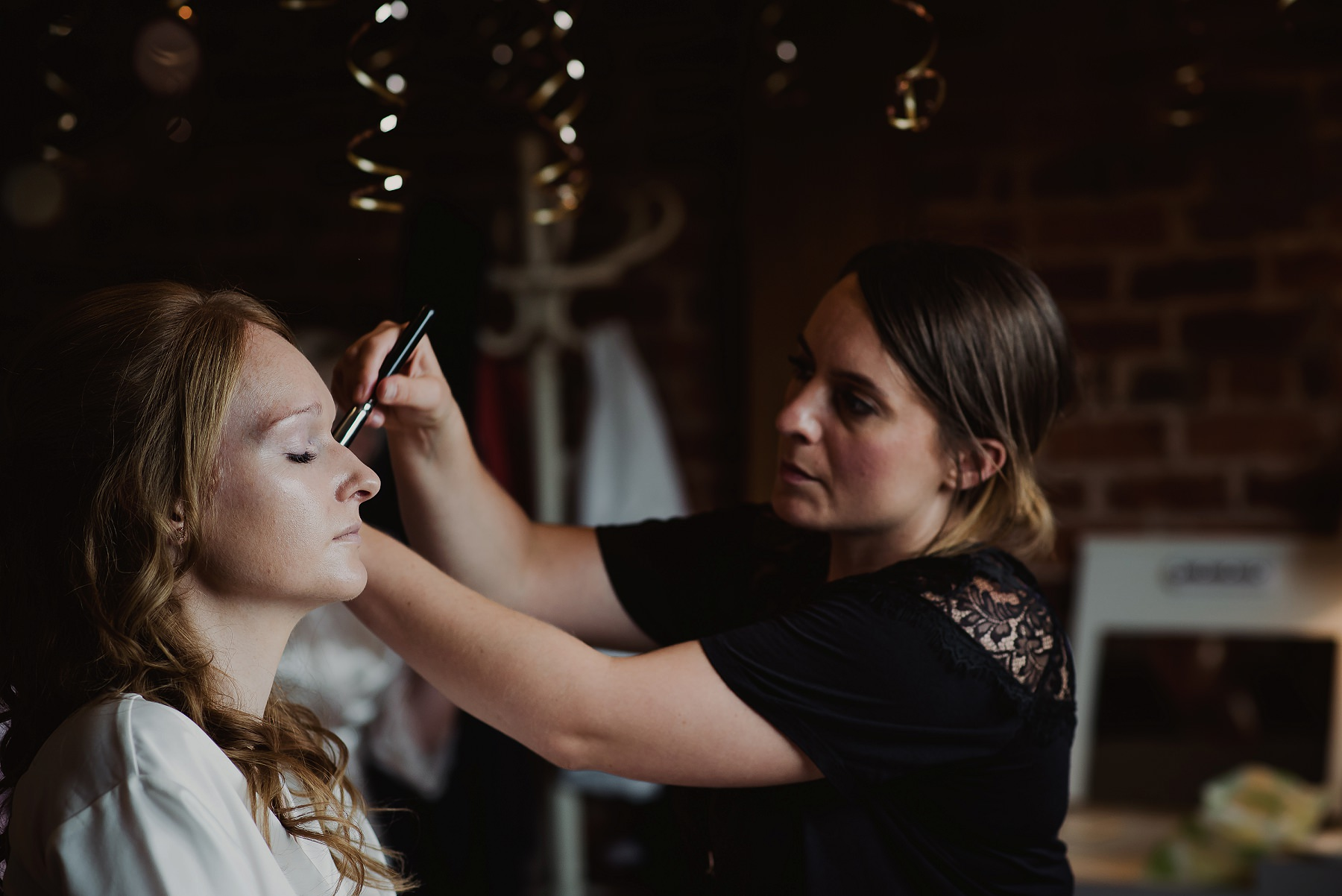 curradine barns, bridal preparation, makeup artist